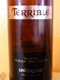 Unibroue_Terrible