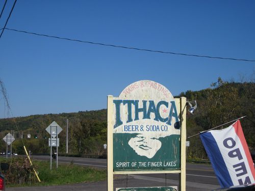 Ithaca sign