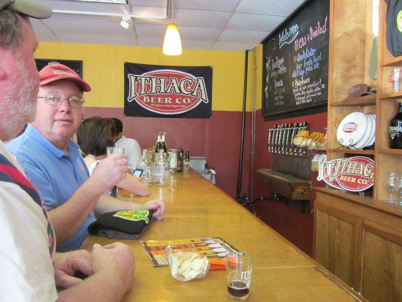 Ithaca tasting room
